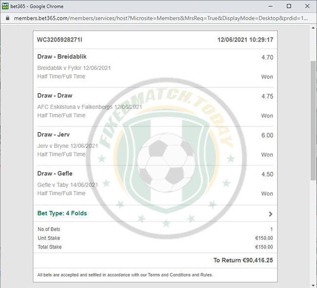 Safe Tip Fixed Matches