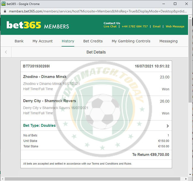 Football Fixed Matches Today